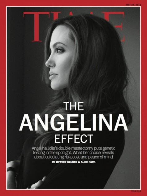 Revista Time Angelina