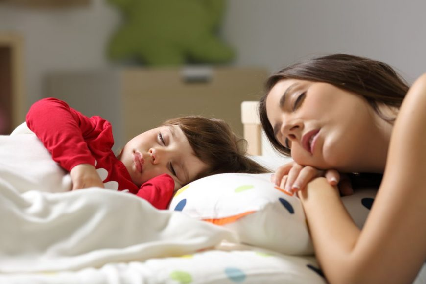 mama fiica somn