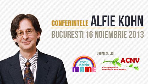 Conferintele Alfie Kohn Totul despre mame