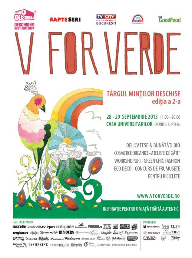 Targul V for Verde, editia a II-a Totul despre mame