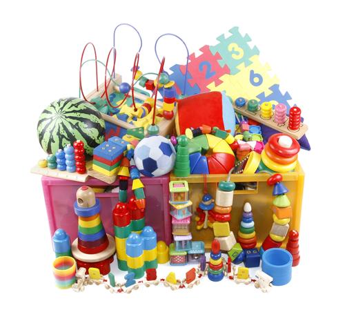 jucării senzoriale colorate
