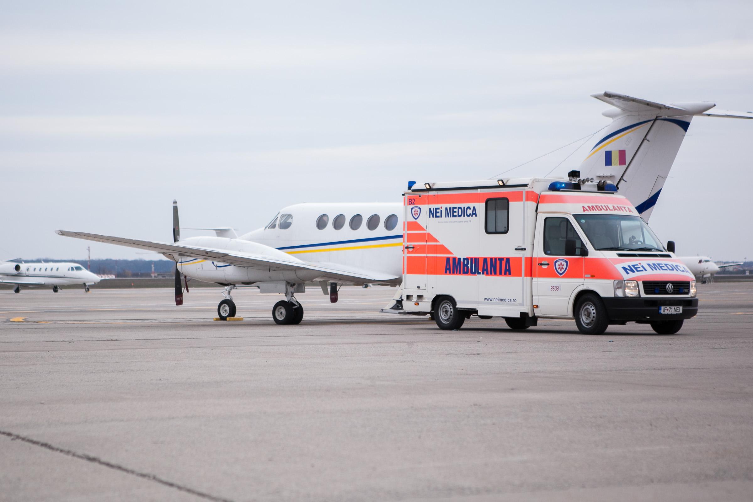 servicii de ambulanță aeriană