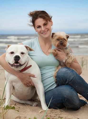 Animalele de casă femeie câini