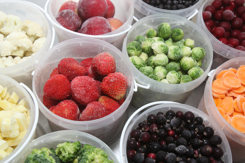 Fructe si legume congelarea