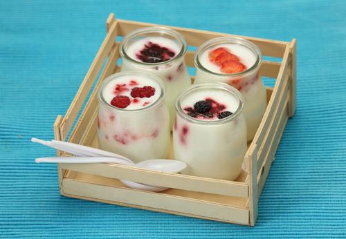 Iaurt din lapte de cocos borcane