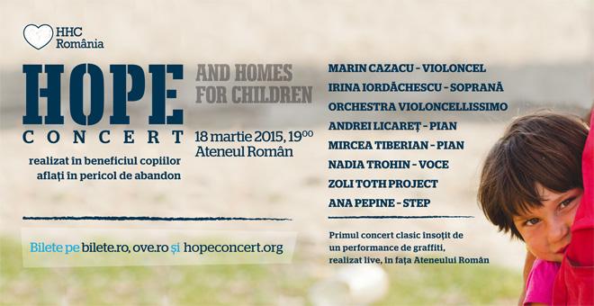 Hope Concert 2015 | Totul despre mame