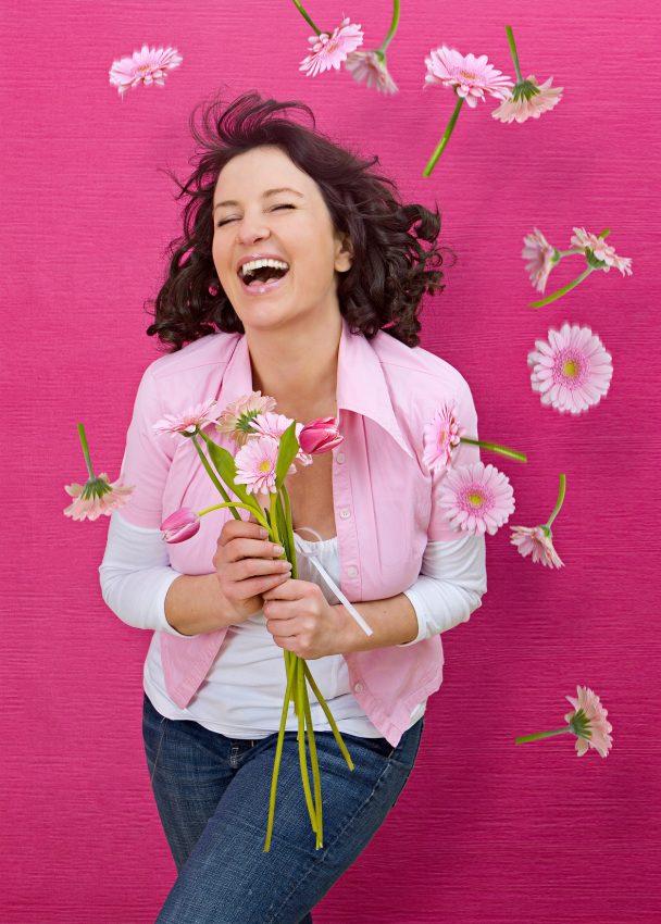 Femeie fericita Itsy Bitsy | Totul despre mame