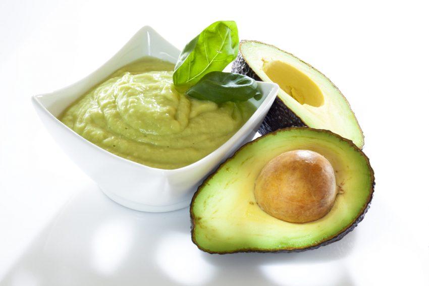 piure de avocado bol