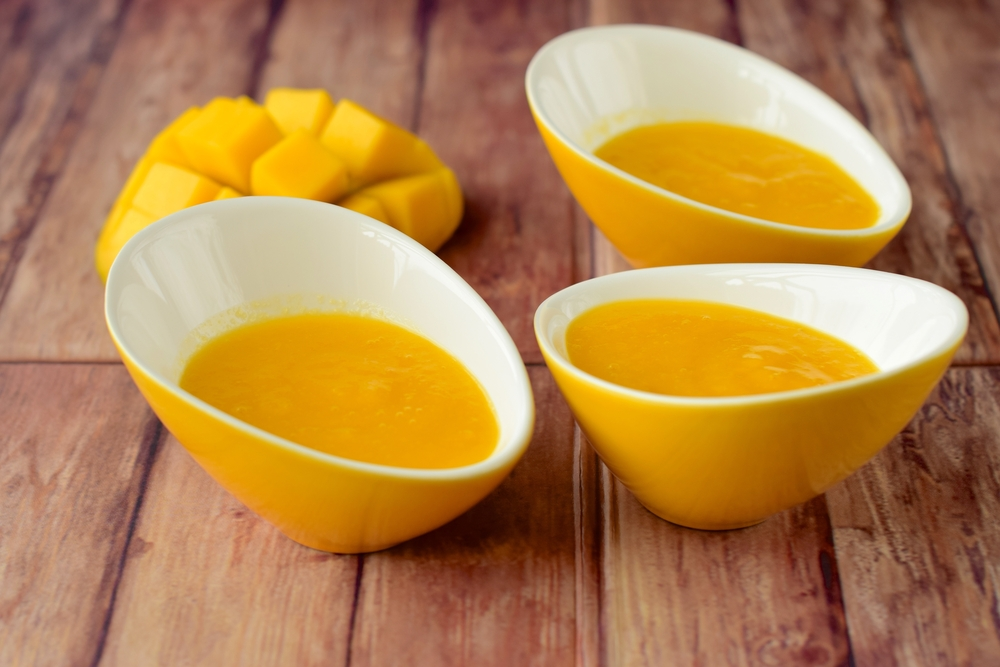 Piure de mango pentru copii