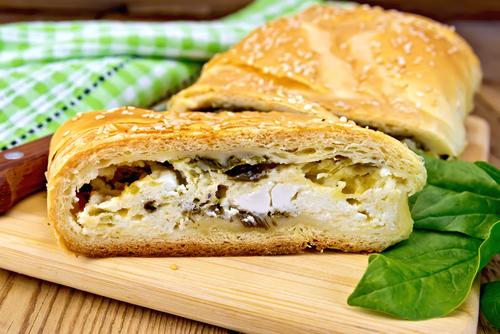 plăcintă kombe cu brânză