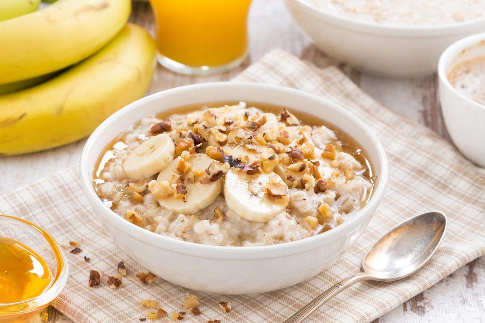 terci de ovăz porridge