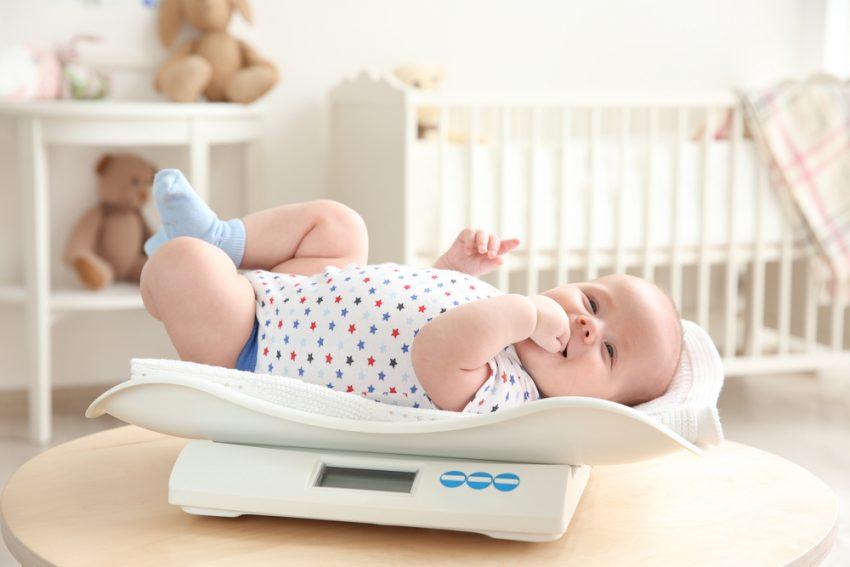 Înălțimea și greutatea bebelușului