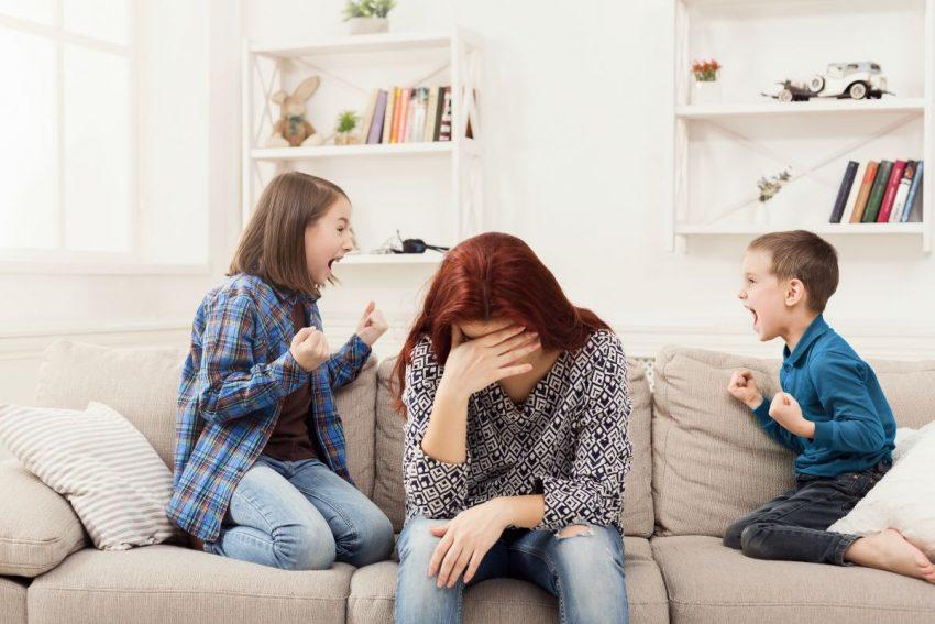 Ce să faci ca să nu ţipi la copii