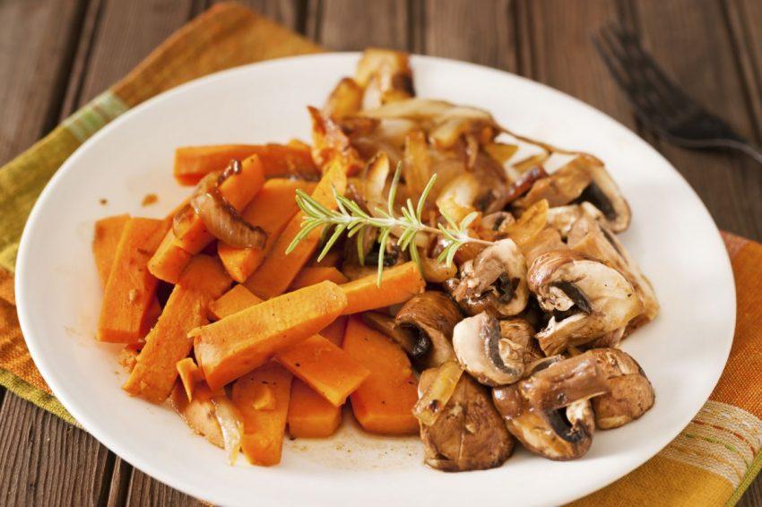 cartofi dulci cu ciuperci totul despre mame