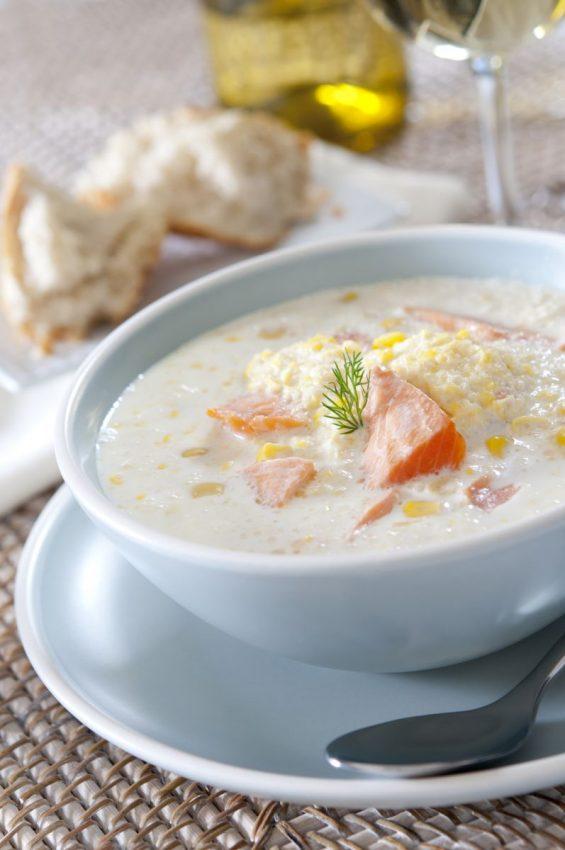 Supă cremă de pește