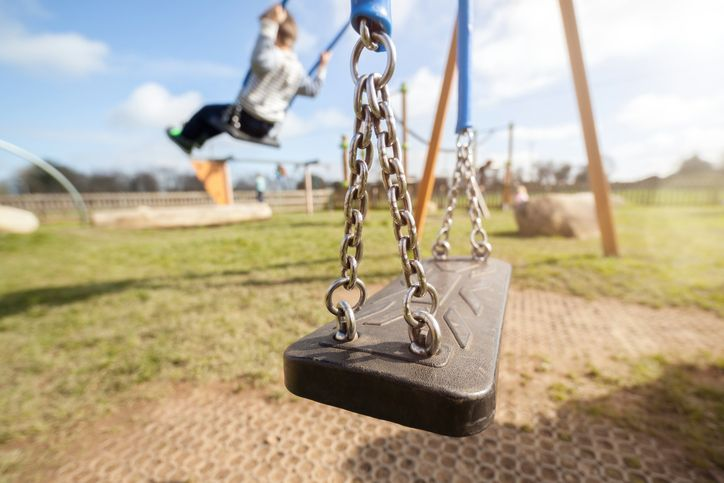 copil pierdut in parc