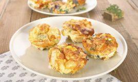 brioșe omletă