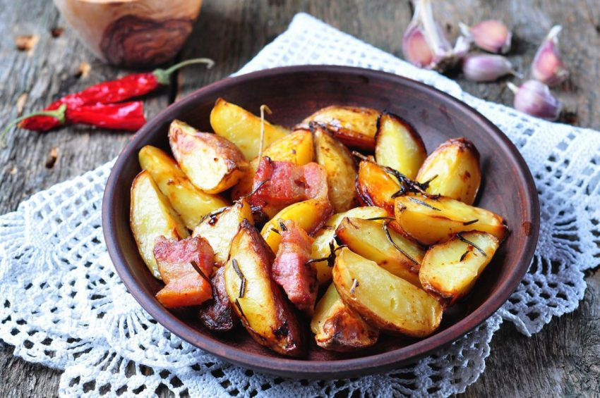 cartofii copți