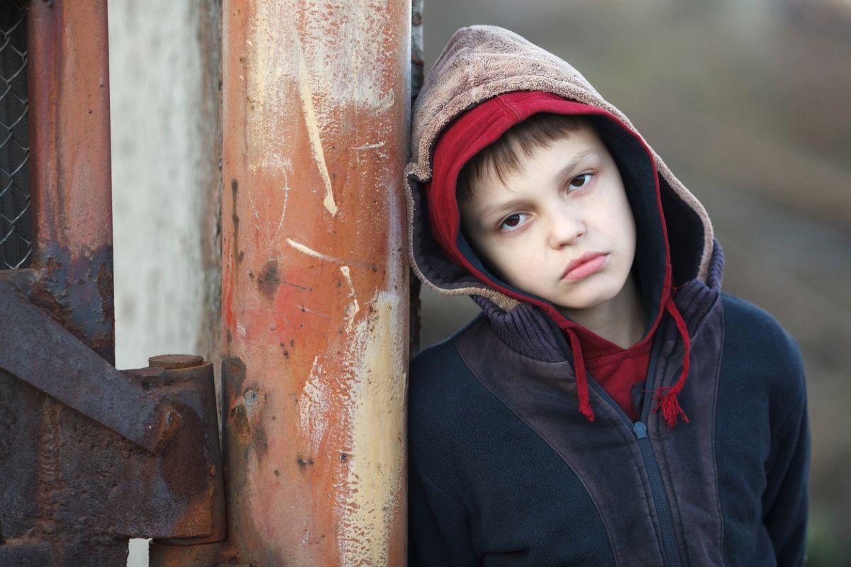 risc de sărăcie