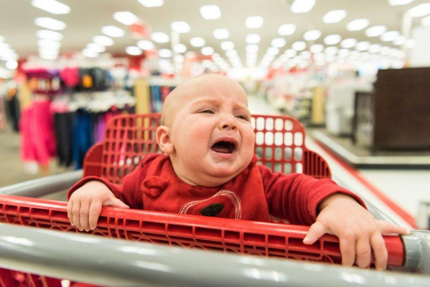 cu copilul la cumpărături