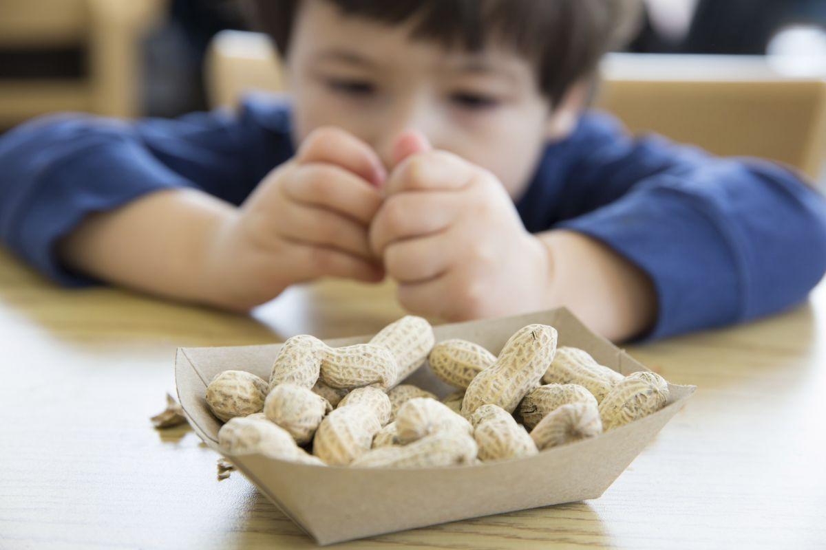 alergia la alune