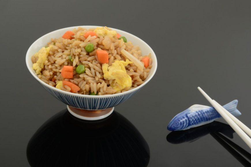 orez cu mazăre