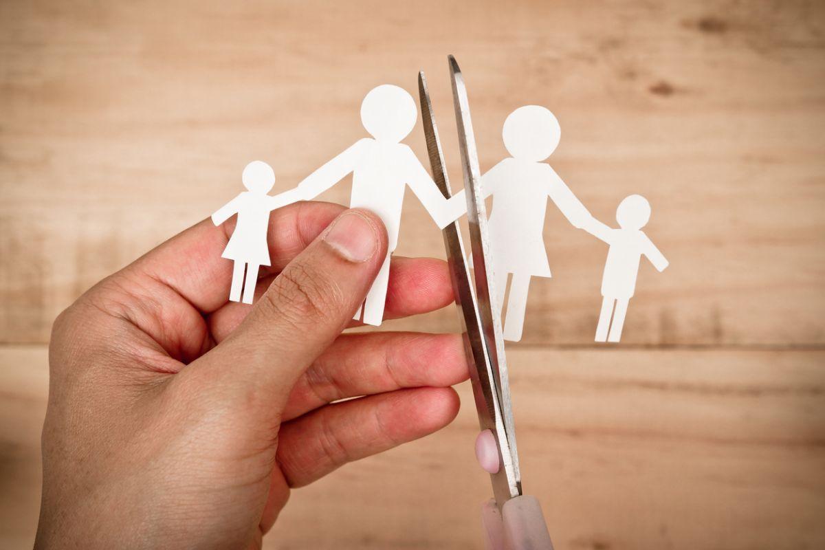 părinții se despart