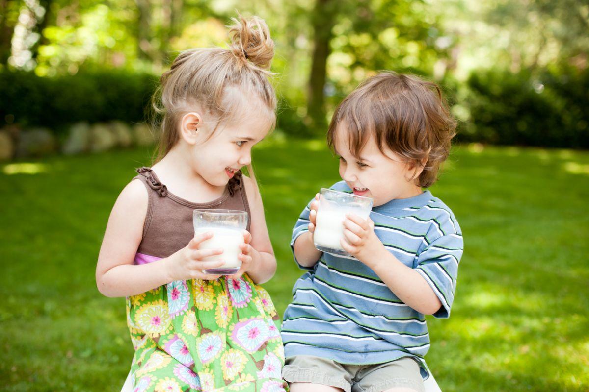 laptele mai gras îi ferește pe copii de obezitate