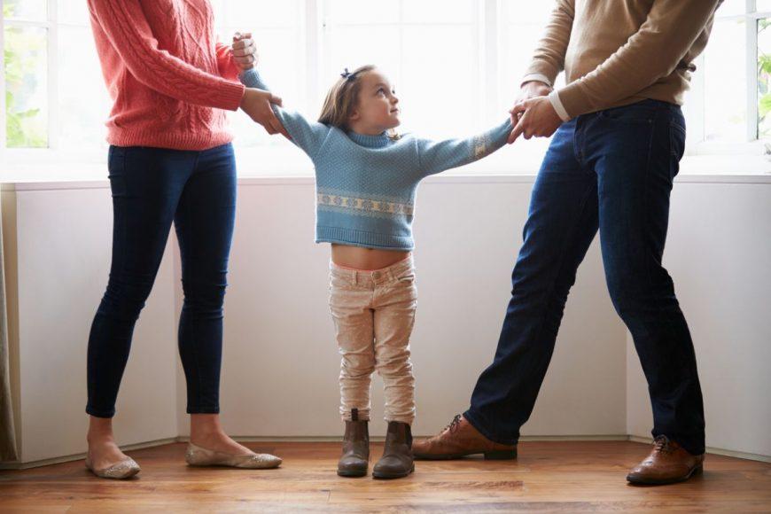 Părinții divorțează