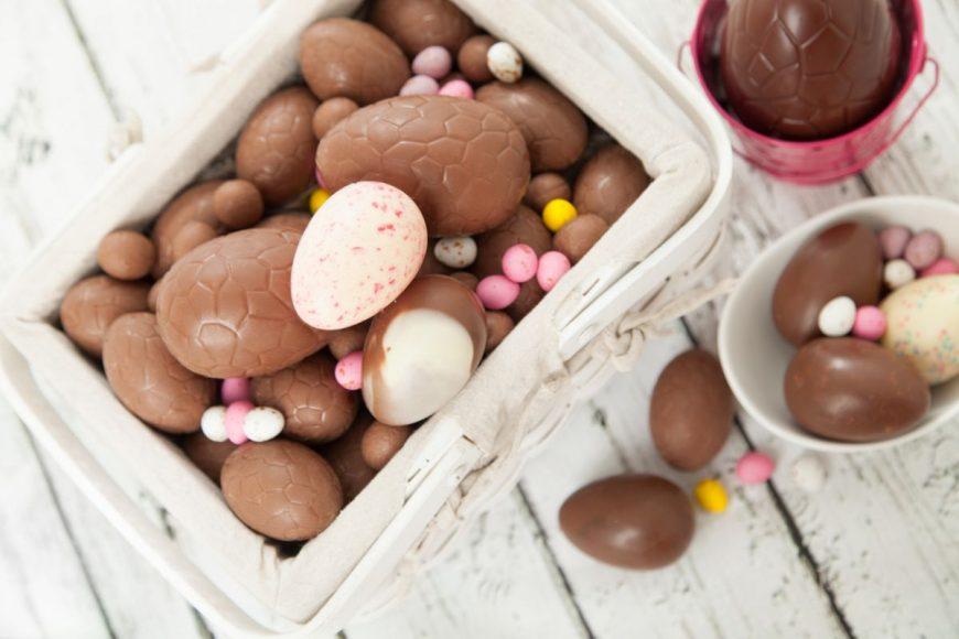 oul de ciocolată