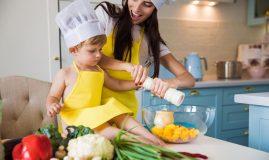 Sarea în alimentația copilului
