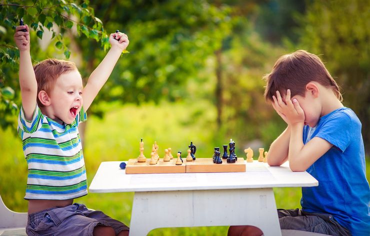 Copilul competitiv