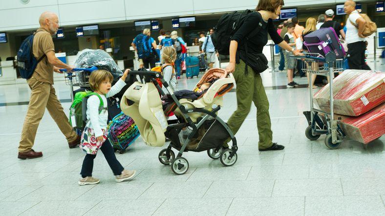 cu copiii în vacanță