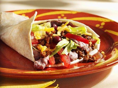 burrito cu carne si legume