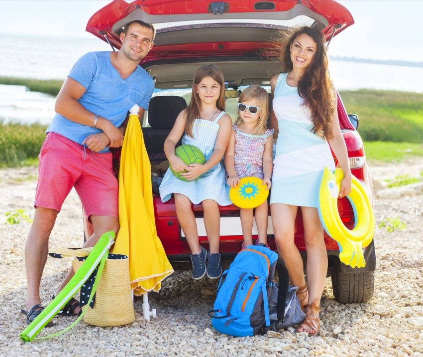 vacanţa în familie