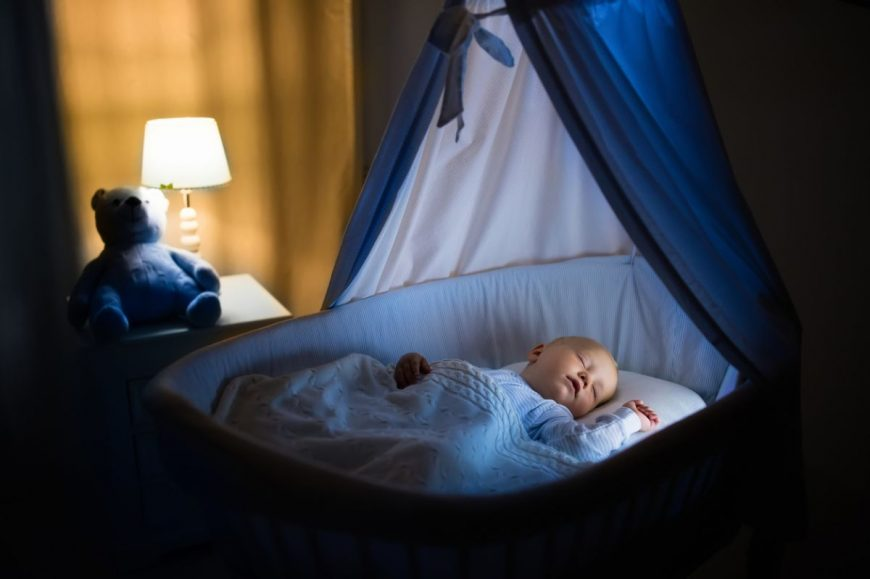 bebeluşul să doarmă singur