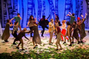 scena din spectacolul bambi exclesior