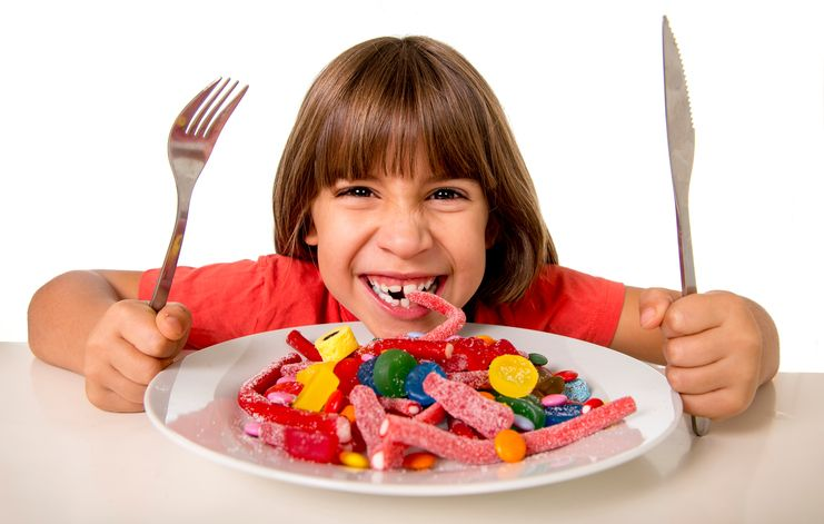 copil dulciuri