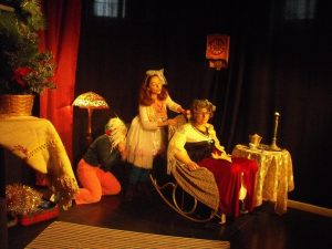 scena din spectacolul poveste de craciun