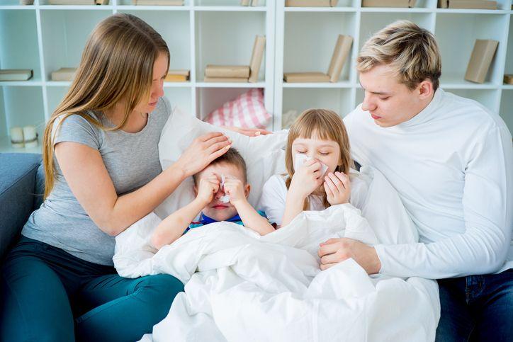 familie copii raciti