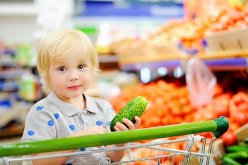 copil legume magazin