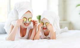 mama fiica distractie crema piele