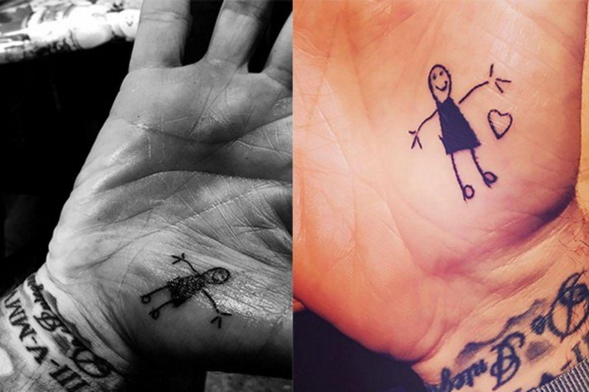 tatuaj David Beckham
