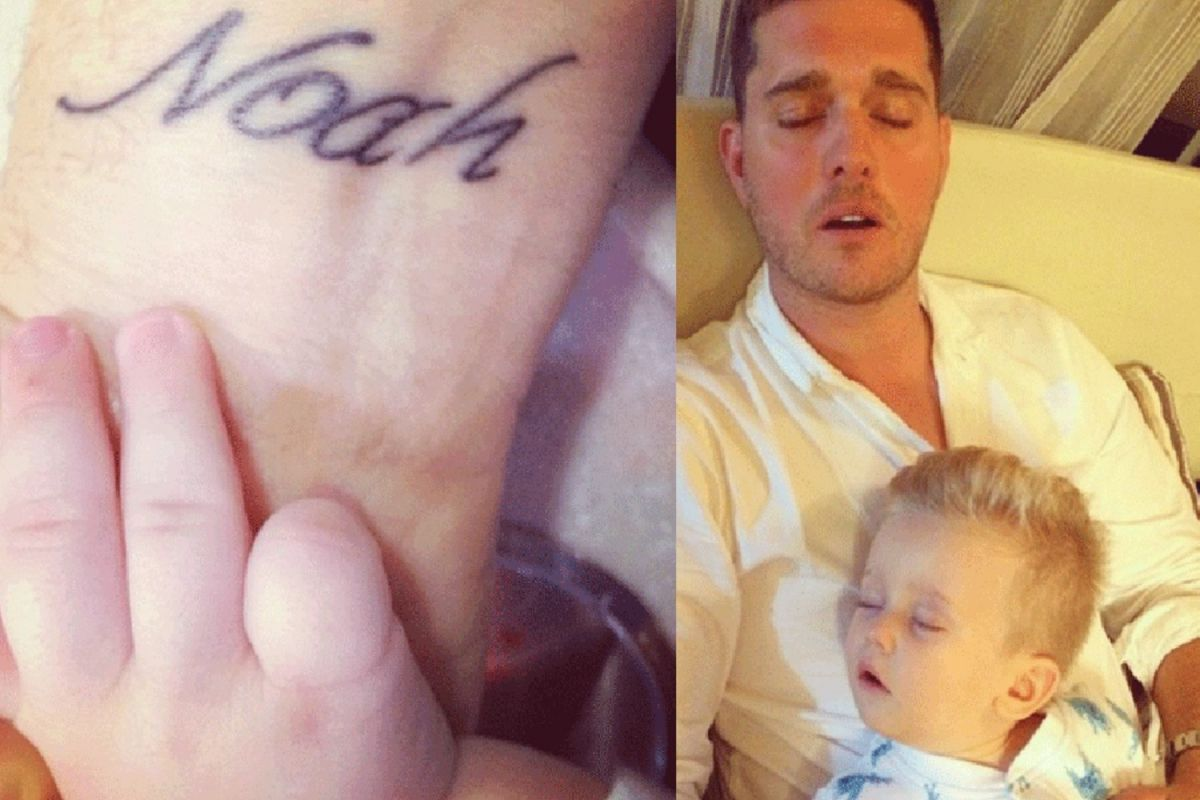 tatuaj Michael Buble