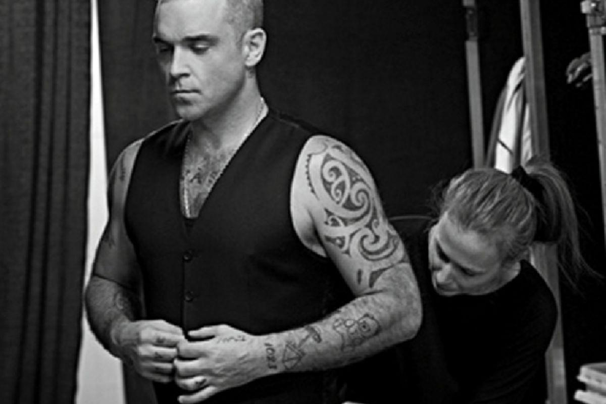 tatuaj Robbie Williams