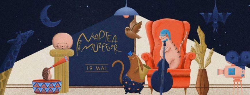afis eveniment noaptea muzeelor
