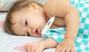copil febra termomtru