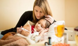 mama copil febra tratament