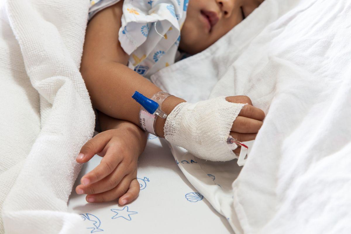 copil spital perfuzii
