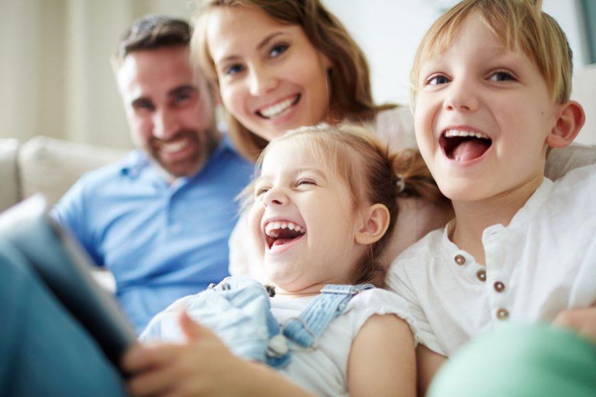 parinti copii fericiti